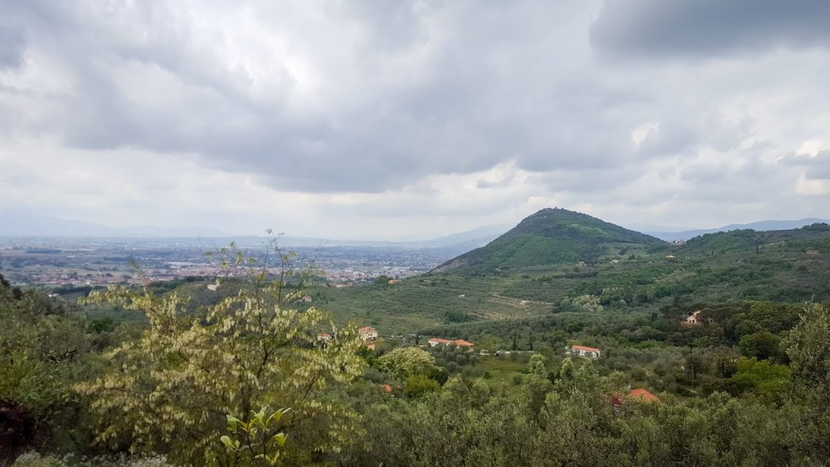 Tuscany Day 7: trail running and Pistoia